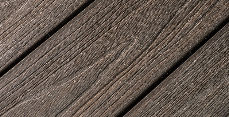 compare organic wood and composite decking