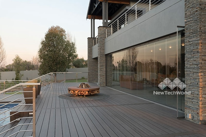 Care to build Fire about the composite decking
